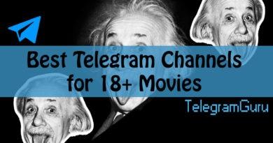 Telegram Channels 18+