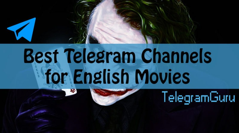 Telegram English Movie Channels