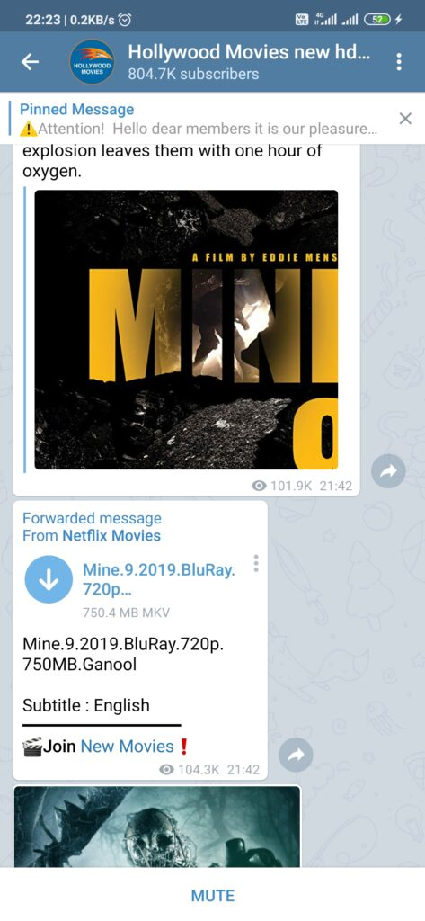 How to download telegram movies