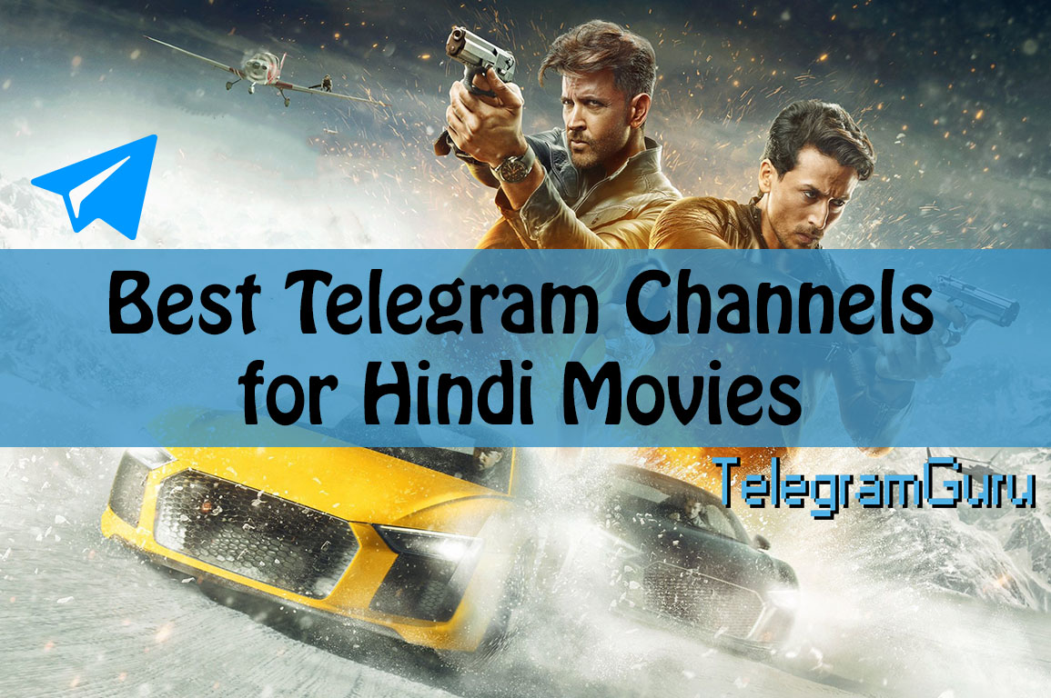 15 Best Telegram Hindi Movie Channels for Bollywood