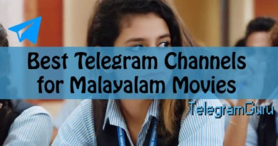 Telegram Malayalam Movie Channels