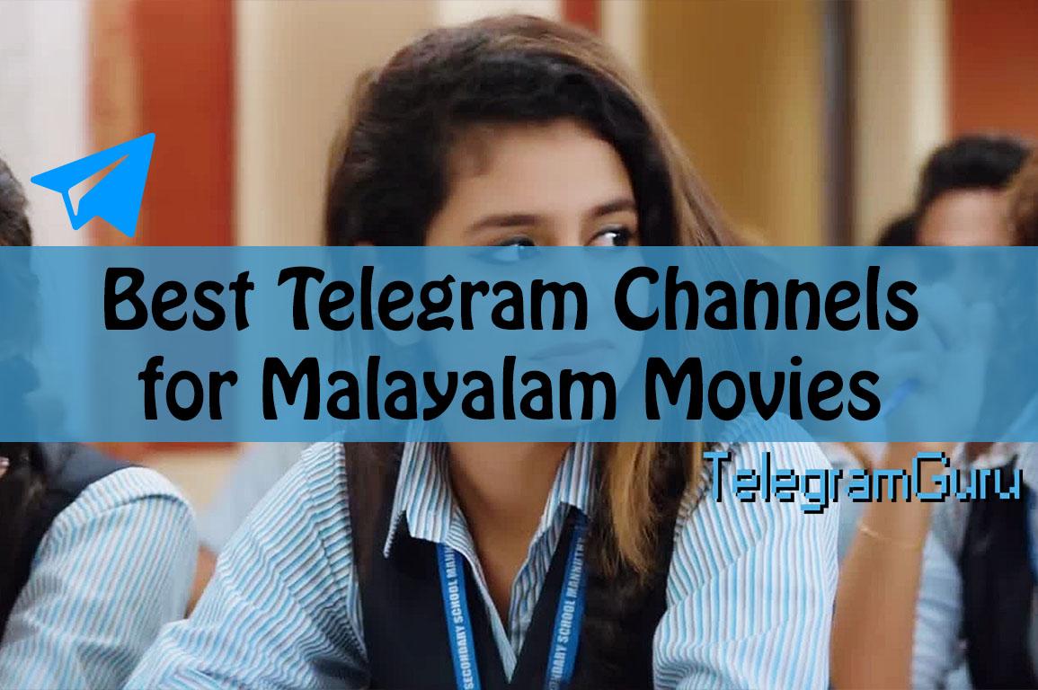 Telegram Malayalam Movie Channels