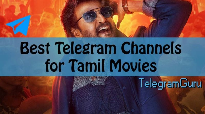 Telegram Tamil Movie Channels