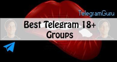telegram adult groups