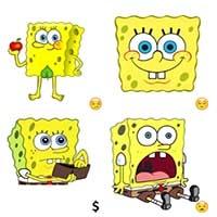 spongebob telegram meme stickers