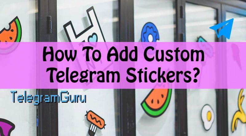 Telegram Custom Stickers