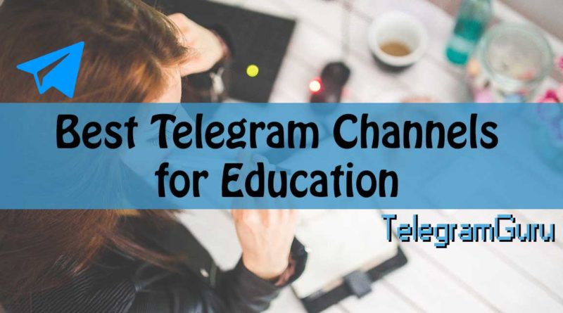 telegram education channels