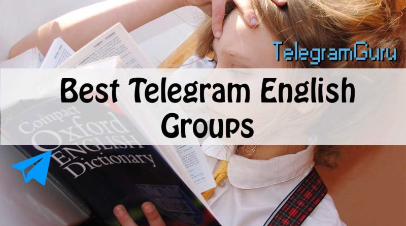telegram english groups