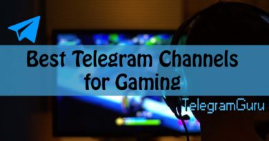 telegram gaming channels
