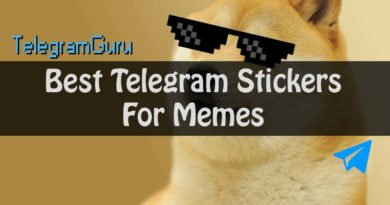 best telegram meme stickers