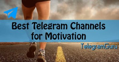 telegram motivation channels