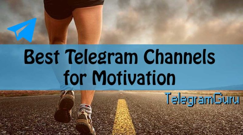 telegram motivation channels