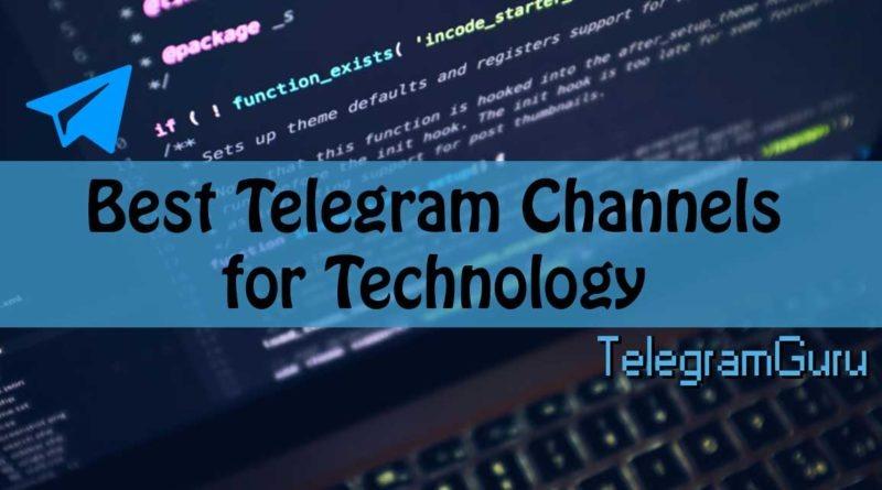 telegram technology channels