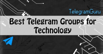 telegram technology groups