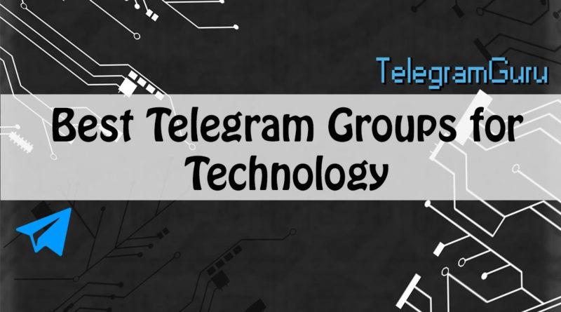 telegram technology groups