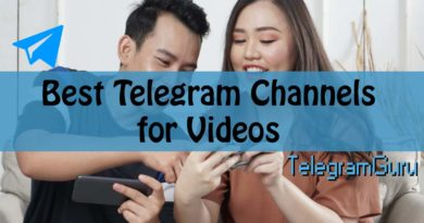 telegram video channels