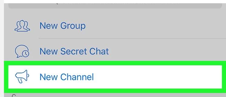 telegram channel iOS