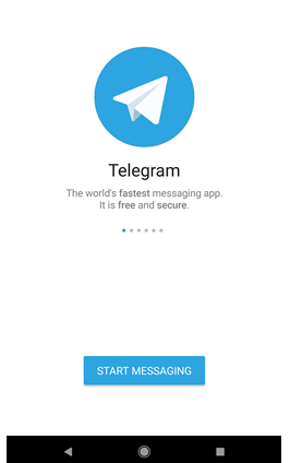 Create Telegram account