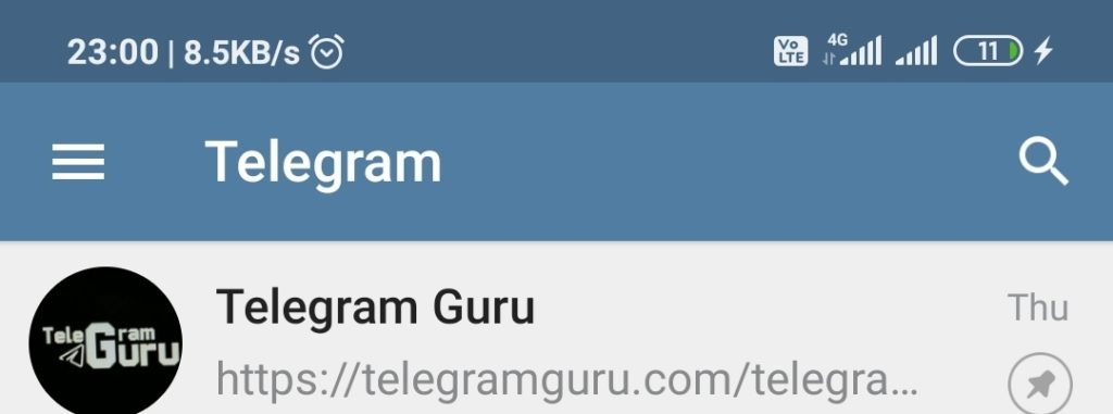 Telegram Channel - Android