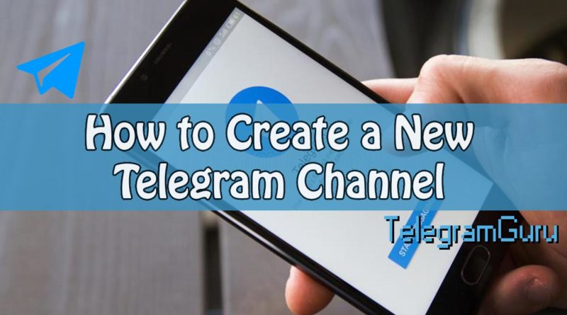 How to create telegram channel