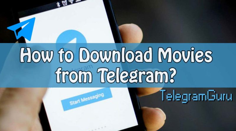 how to download movies telegram