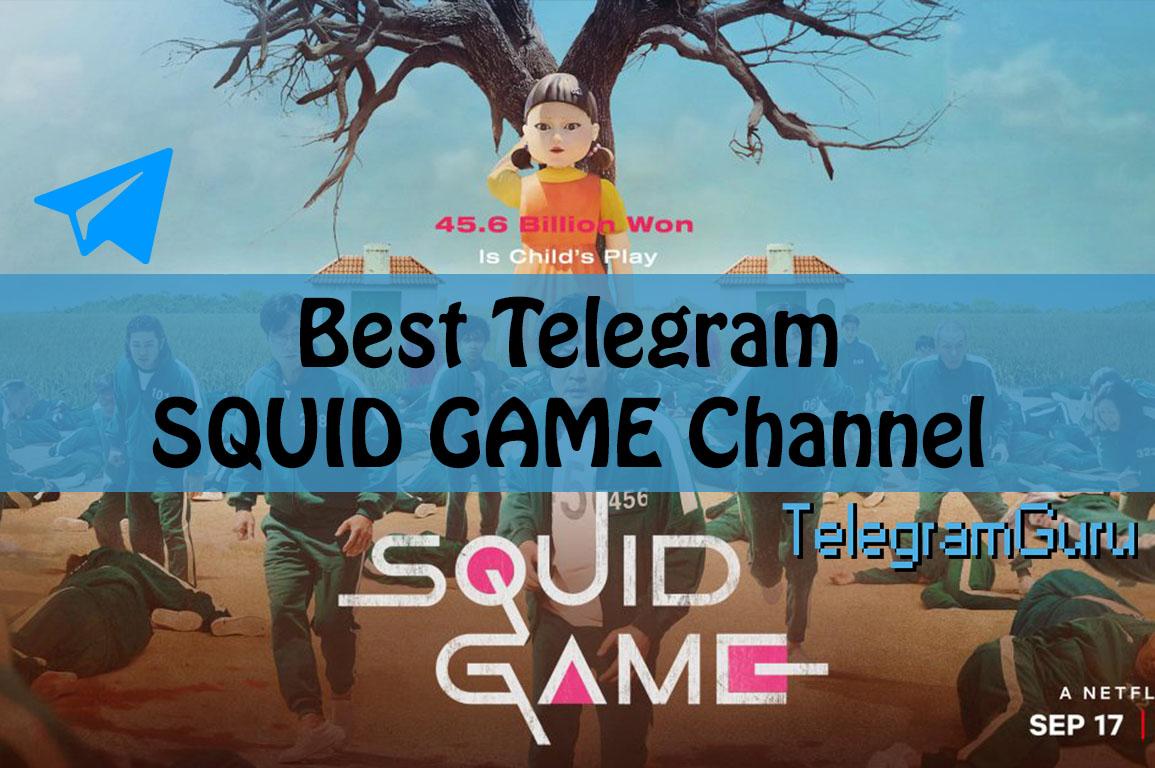 best telegram squid game channel